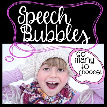 Speech Bubbles Bundle!