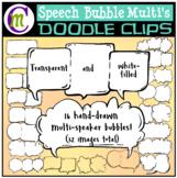 Speech Bubbles Clip Art
