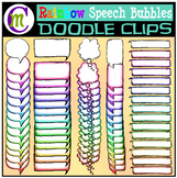 Speech Bubbles Clip Art