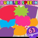Speech Bubbles - Clip Art