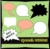 Speech Bubbles Clipart