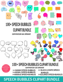 Speech Bubbles Clipart Bundle-Conversation Bubbles Clipart Bundle