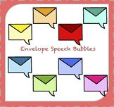 Speech Bubbles Clipart / Thought Bubbles Clipart