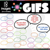 Speech Bubbles GIFs | Editable ANIMATED Clipart