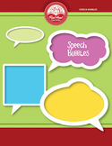 Speech Bubbles clip art and instructional tool