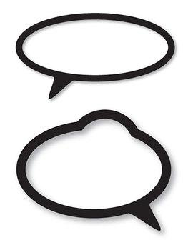 Speech Bubbles clip art and instructional tool