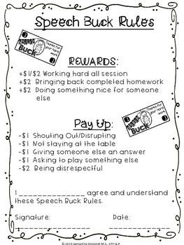Speech Buck Contract