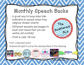 Speech Bucks - A Growing Bundle!