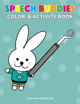 Speech Buddies - Color & Activity Book