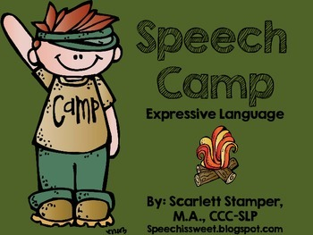 Speech Camp: Expressive Language Activities