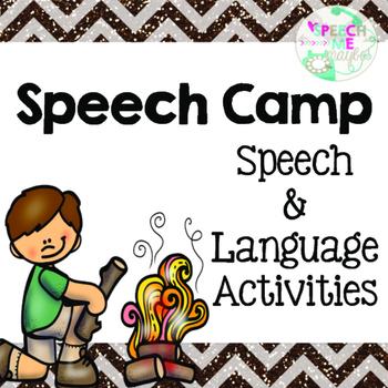 Speech Camp Language Activities