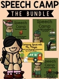 Speech Camp: A Speech Therapy Bundle!