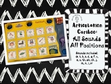 Speech Cariboo Articulation Cards: All Word Positions: With Visual Cues
