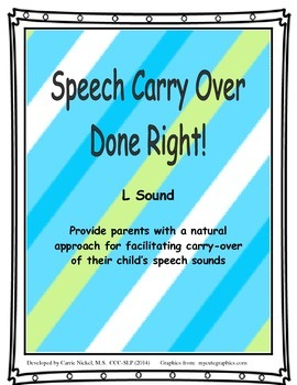 Speech Carry Over Done Right!  L