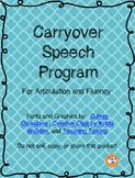 Speech Carryover Program
