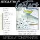 Speech Centers: Articulation Spinners