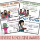 End of the Year Awards- Speech Therapy Certificates- No Prep