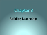 (Speech) Ch. 3 Building Leadership