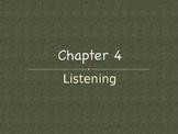 (Speech) Ch. 4 Listening
