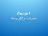 (Speech) Ch. 5 Nonverbal Messages