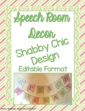 Speech Therapy Room Decor Shabby Chic