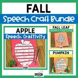 Fall Speech Craft Bundle