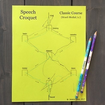 Speech Croquet for Consonant Clusters: Classic Course