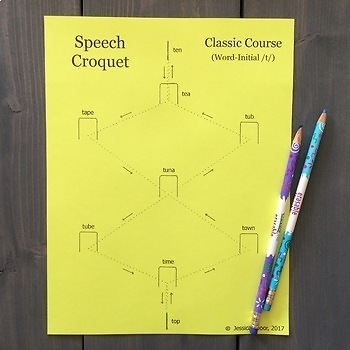 Speech Croquet for Singleton Speech Sounds: Classic Course