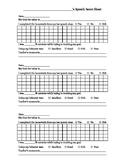 Speech Data Sheet