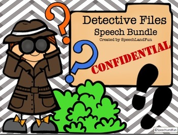 Speech Detective Bundle