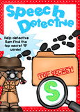 Speech Detective - /S/ Articulation game for Speech Therapy
