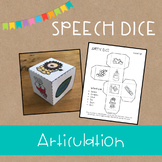 Speech Dice {Articulation}