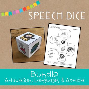 Speech Dice | Articulation and Language