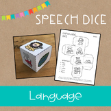 Speech Dice {Language}