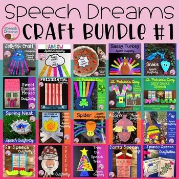 Speech Dreams Craft Bundle #1