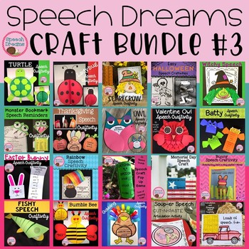 Speech Dreams Craft Bundle #3