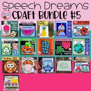 Speech Dreams Craft Bundle #5