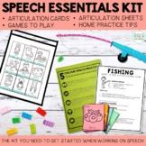 Speech Essentials Kit for Speech Therapy