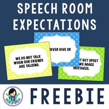 Speech Expectations