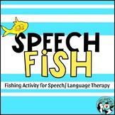 Speech Fish: Preschool Fishing Activity