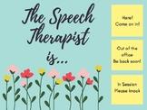 Speech Floral Decor