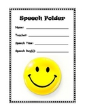 Speech Folder Cover