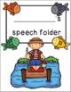 Speech Folder Covers {Camp Edition}