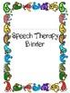 Speech Folder and Data Bundle