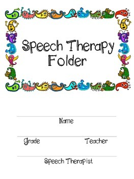 Speech Folder and Data Bundle