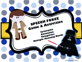 Speech Force: synonyms, antonyms, categories, & mult. mean.