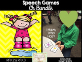 Speech Therapy Games: Ch Games Bundle