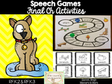 Speech Therapy Games: Final Ch Games