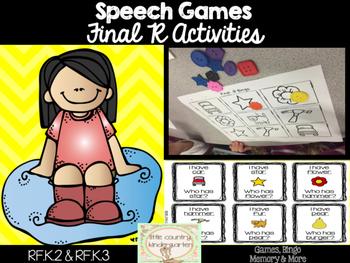 Speech Games: Final R Games Bundle