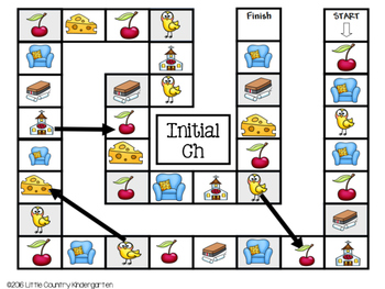 Speech Therapy Games: Initial Ch Games Bundle